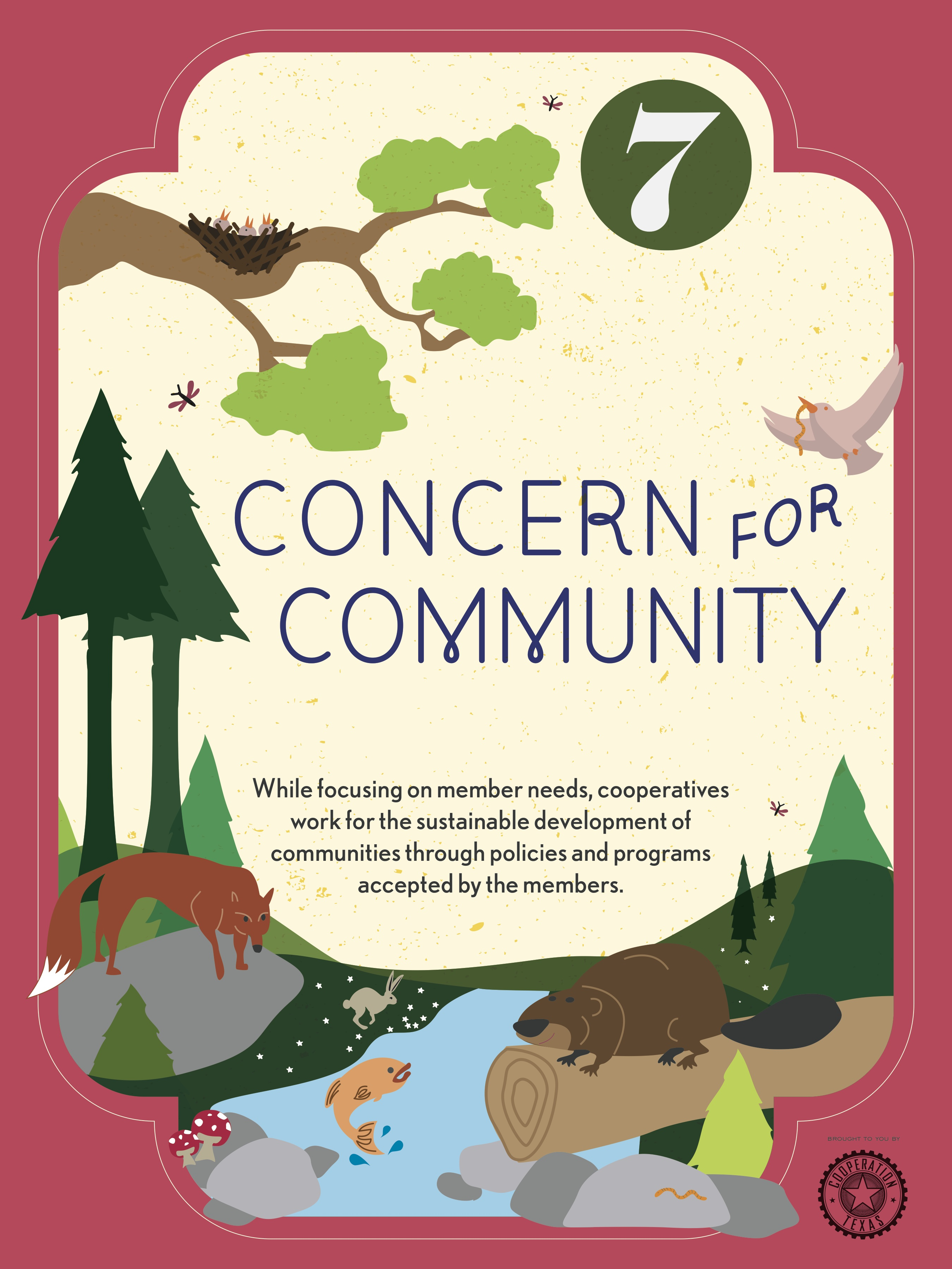 COOP Principles No.7 Commitment to Community